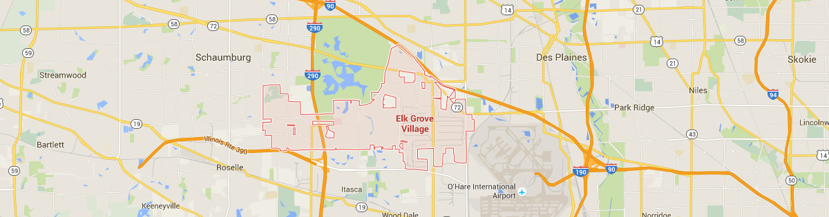 Elk Grove Map