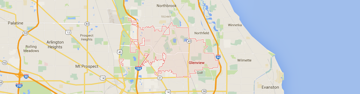 Glenview Map