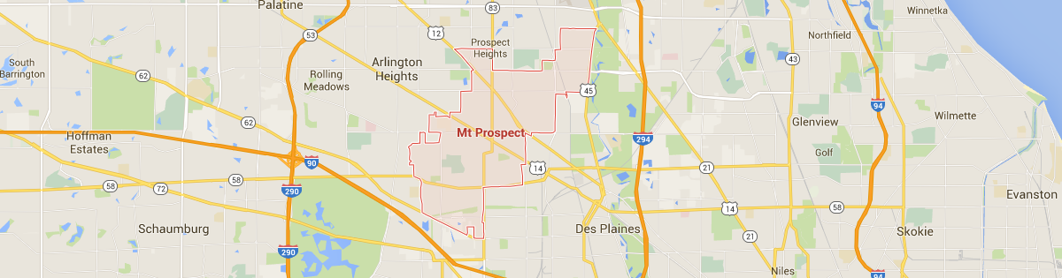 Mount Prospect Map