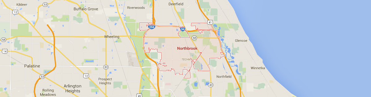 Northbrook Map