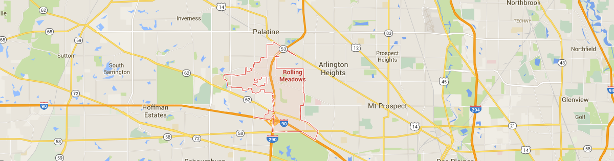 Rolling Meadows Map