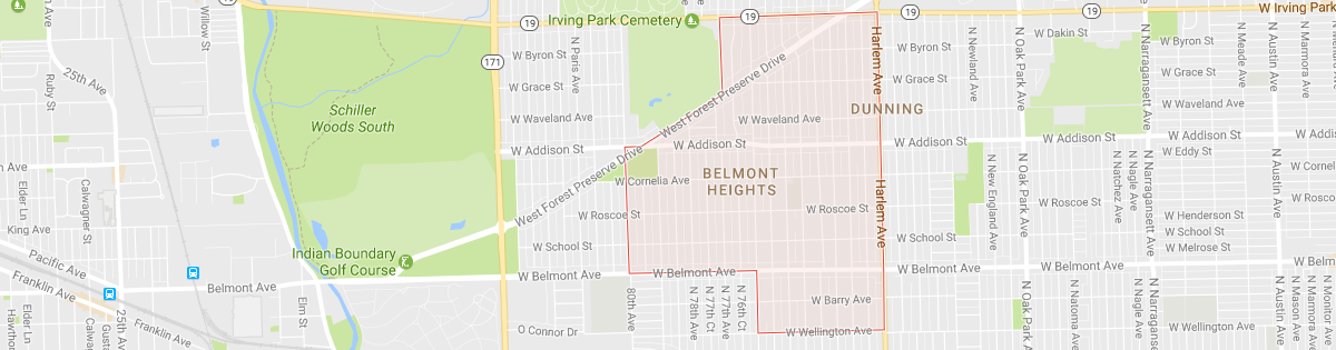 Belmont Heights Map