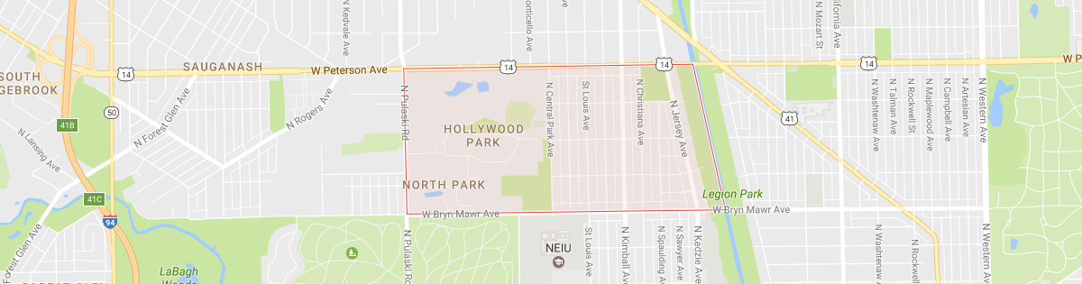Hollywood Park Map