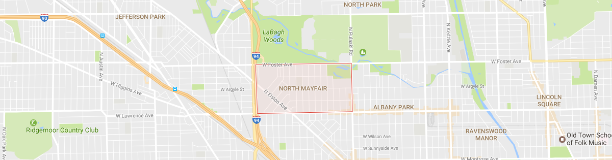 North Mayfair Map
