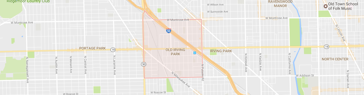 Old Irving Park Map