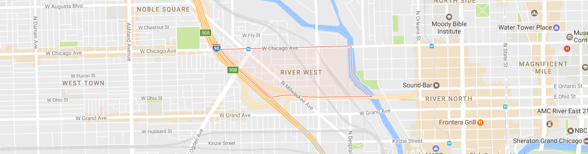 River West Map