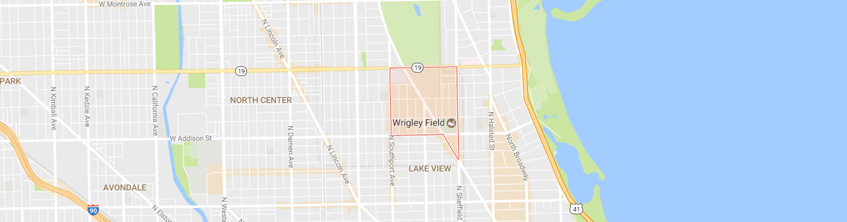 Wrigleyville Map